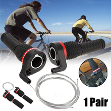 New 1 Pair Bicycle Gears Mountain Bike Speed Twist Gear Shifter And Turning Handles Rubber Grips Cycle Parts