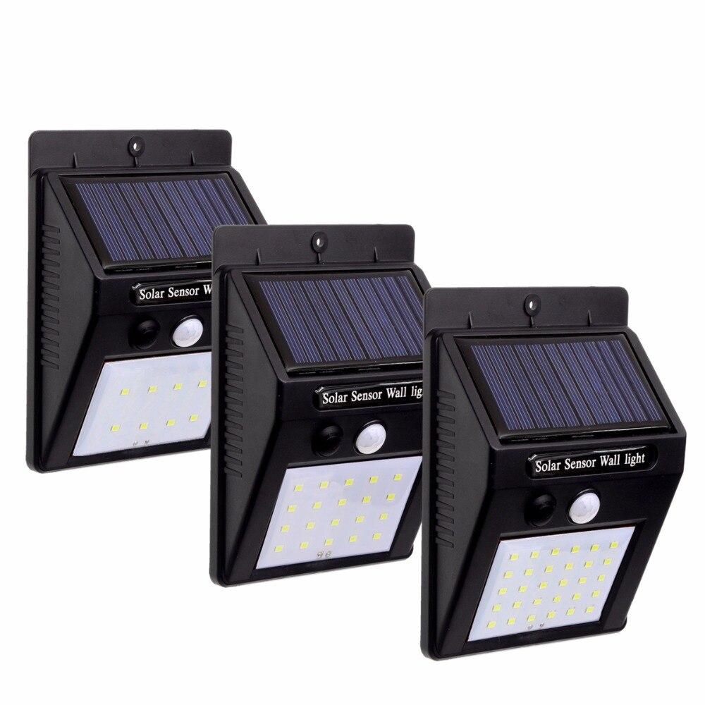 BEILAI Lampade Solari ha condotto la luce solare a terra all'aperto lampion impermeabile motion sensore ip65 lampada solare esterna giardino luce di notte