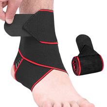 1PCS Elastic Silicone Ankle Support Brace Strap Basketball Football Professional Ankle Support Sports Safety цена в Москве и Питере