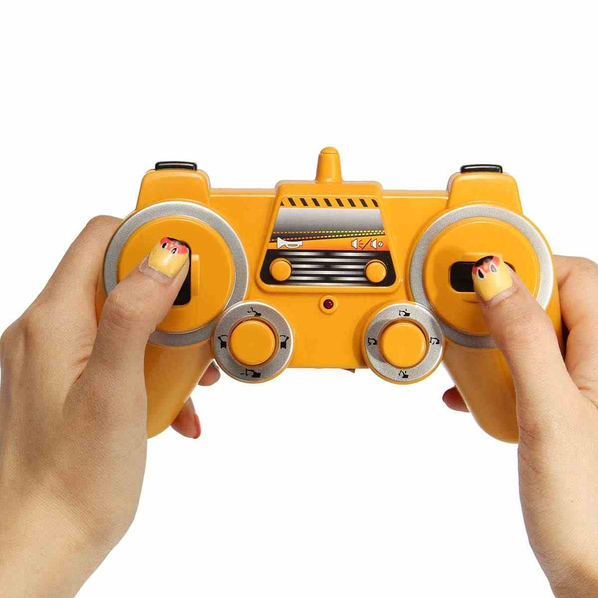 17 каналов 2,4G RC экскаватор игрушки детские мальчики игрушки для грузовых автомобилей RC подарки электронный RC инженерный автомобиль гусеничный трактор моделька Землекопа