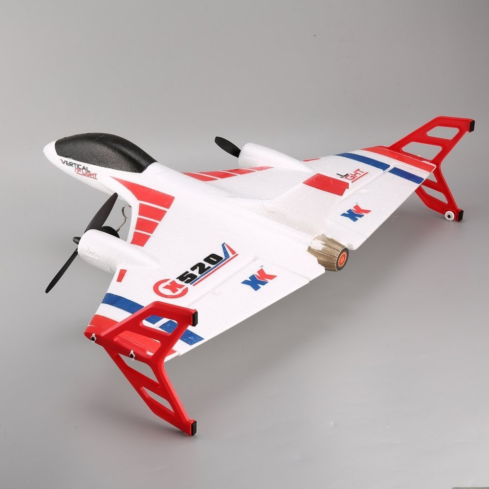 XK X520 6CH 3D/6G Airplane VTOL Vertical Takeoff Land Delta Wing Brushless RC Drone Fixed Wing Plane Toy with Mode Switch цена и фото