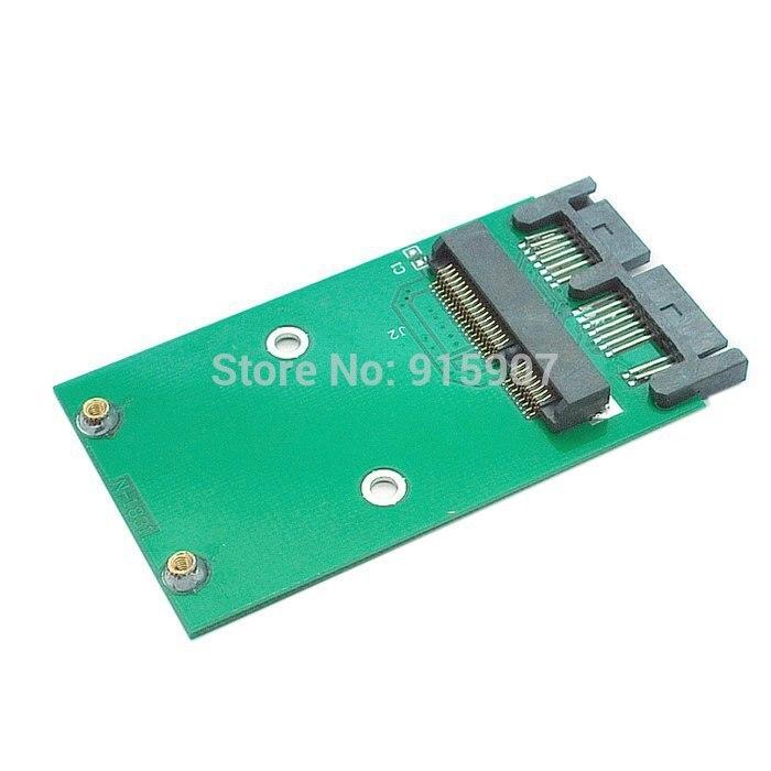 10pcs/lot USB 2.0 to Mini PCI E mSATA SSD to 1.8 Micro SATA 7+9 16pin Adapter Add on Cards PCBA for SSD Hard Disk