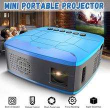 MINI Projector 680Lumens 1920x1080P LED Portable HD Beamer for Home Cinema Supports powerd by power bank