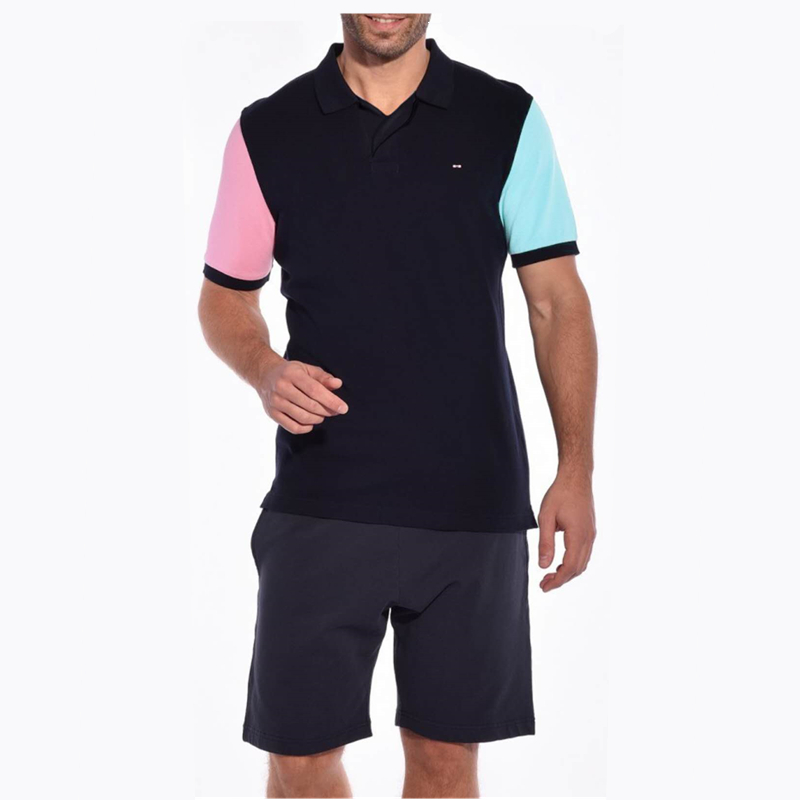 2018 New Eden Park Summer Men   Polo   Shirts Cotton Short Sleeve Aeronautica Militare Jerseys   Polo   Hommes Manche Courte Clothing