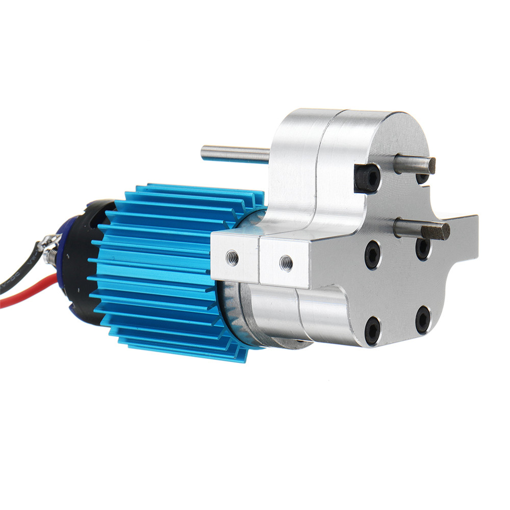 Speed Gear Box Set Replace Upgrade Spare <font><b>Parts</b></font> Suit For WPL C14 C24 4WD 6WD RC Car for <font><b>JJRC</b></font> Q60/<font><b>Q61</b></font> Remote Control <font><b>Parts</b></font> Metal image