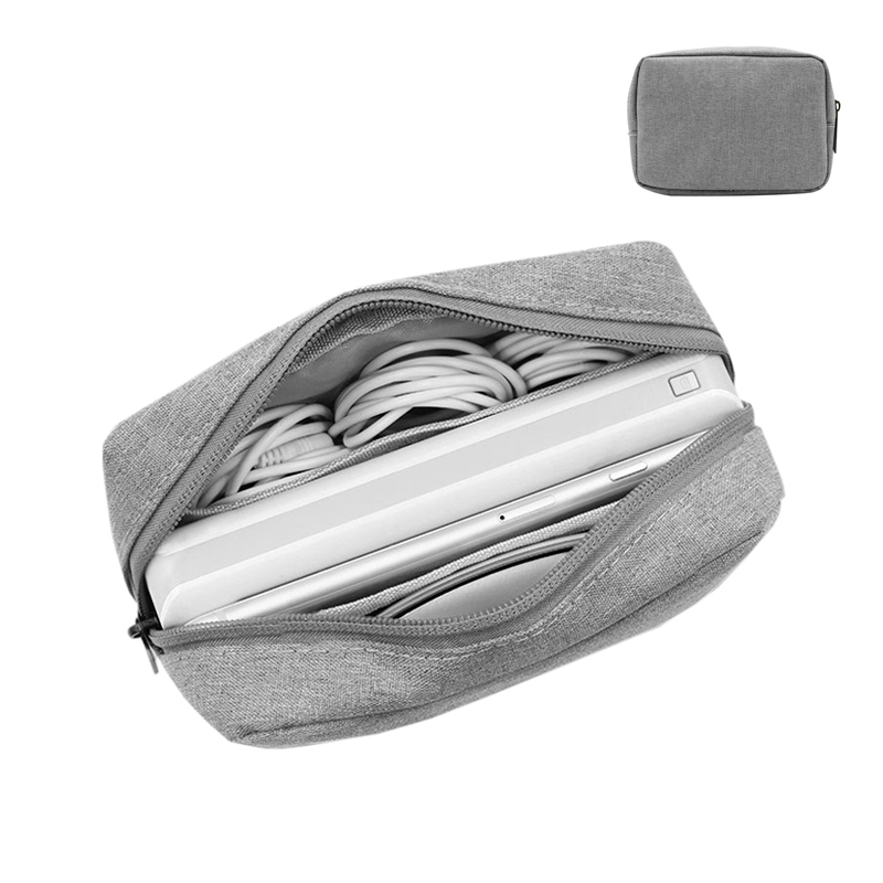 Digital Cable Organizer Bags Travel Electronic Headphones Charger Wires Case Pouch SD Cards Drives Gadgets Trip Tote Accessories
