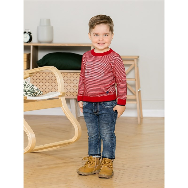 Sweaters Sweet Berry Knitted Sweater for boys children clothing kid clothes color block buttons knitted sweater