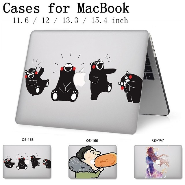 For Laptop Case For Notebook Sleeve MacBook 13.3 15.4 Inch For MacBook Air Pro Retina 11 12 With Screen Protector Keyboard Cove