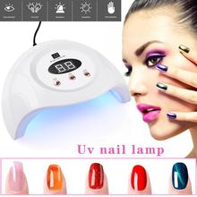 90W UV Lamp LED Nail Dryer For All Gels Polish With 60/90 / 99s Timer Manicure Tool Gel Light