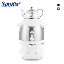 5L Stainless Steel Electric Ceramic Kettle 1350W Large Size Capacity Household Samovar Adjustable Temperature Tea Pot Sonifer(China)