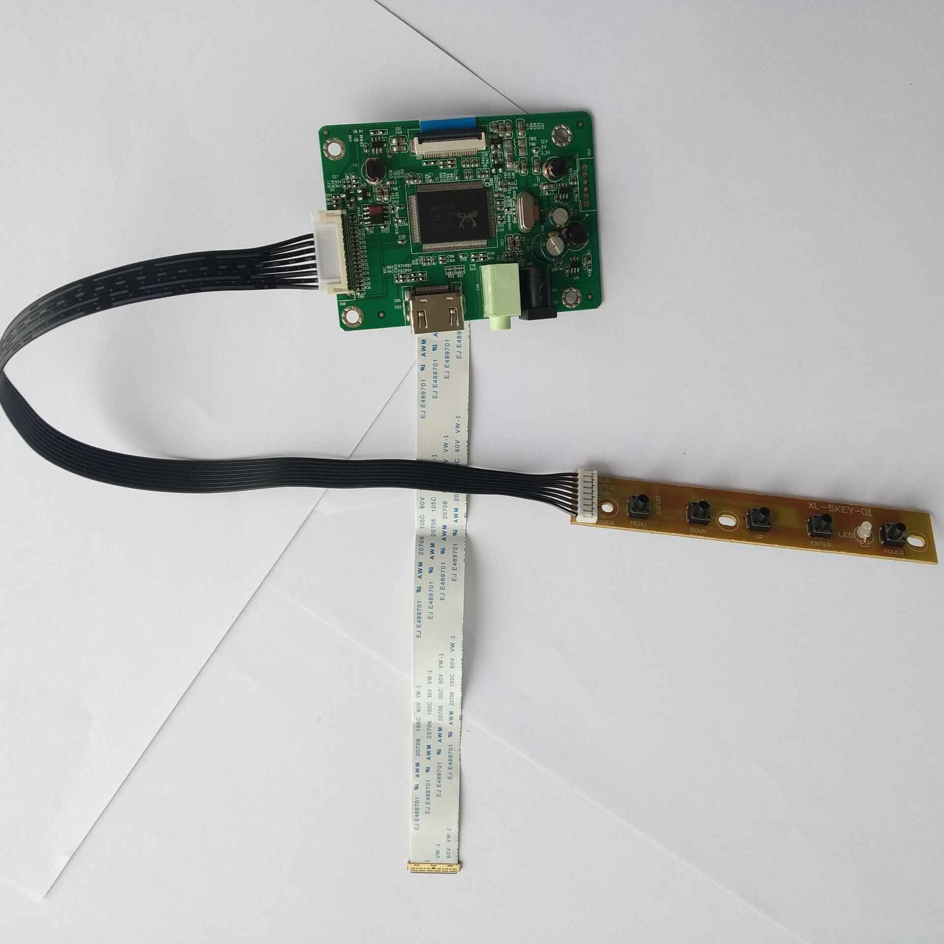 Dla NV140FHM-N41/NV140FHM-N43 1920X1080 panel monitora HDMI LCD LED EDP mini zestaw sterowniczy 30pin kabel karty