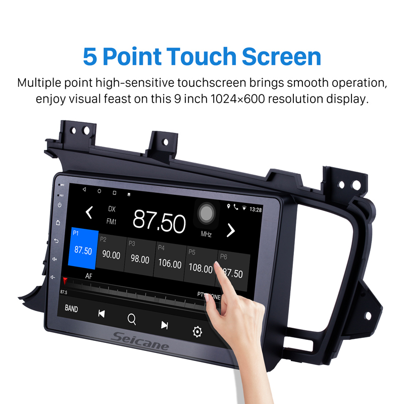 Seicane 2DIN 9 Inch Android 8.1 Car Radio Stereo GPS Navigation Head Unit For 2011 2012 2013 2014 Kia k5 LHD With 8 Core 16G ROM-in Car Multimedia Player from Automobiles & Motorcycles    3