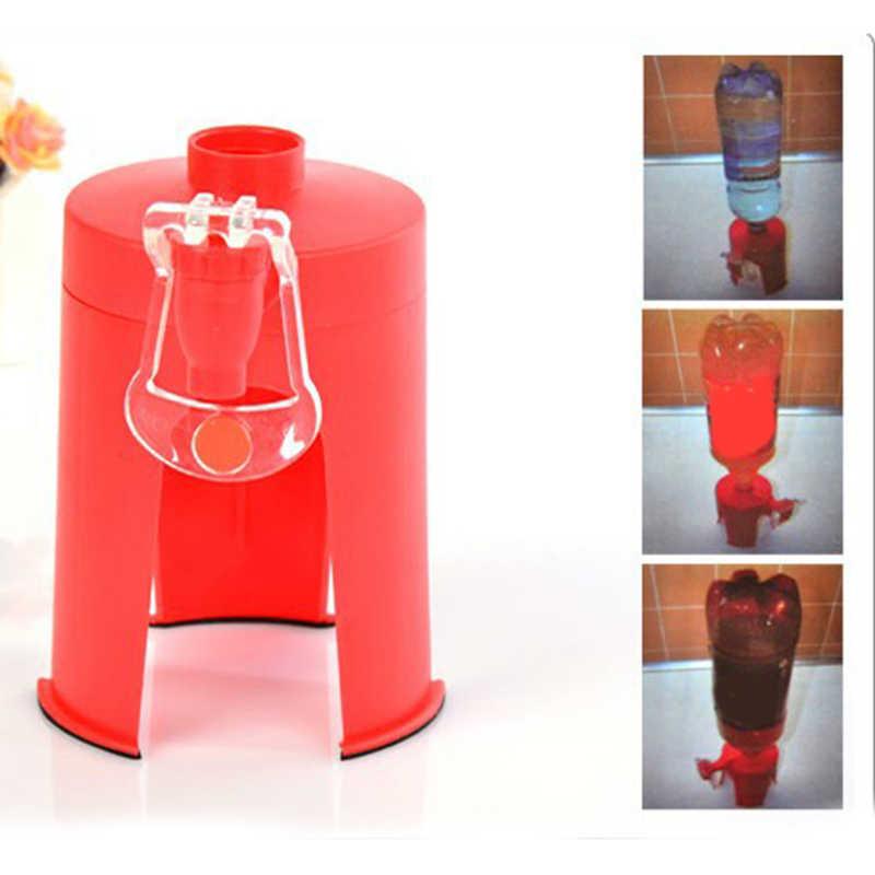 Пластик мини ручной давление Тип перевернутый питьевой фонтан колы бутылки насос для воды дозатор питьевой воды