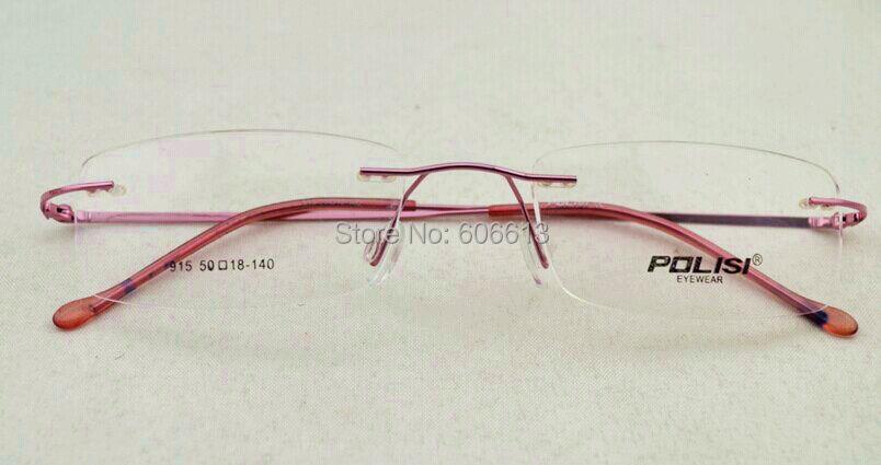 Mega Sales Titanium Hinged Rimless Glasses Frame, Prescription ...