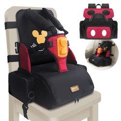 3 en 1 multi-fonction étanche bébé ceinture de sécurité enfants alimentation siège chaise 5 points harnais portable ceinture de sécurité à manger chaise haute