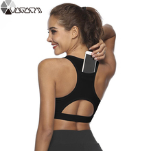 Sports Shirt For Fitness,Segment Dyeing Quick Dry Fitness Yoga Bra,Women Running Gym T-shirts Top Plus Size Mujer