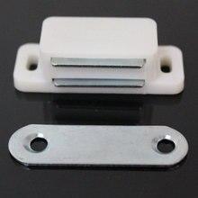 4 шт пластиковый шкаф для шкафа двери шкафа Магнитный фиксатор ограничитель с защелкой держатель самовыравнивающийся магнит мебель для дома фурнитура