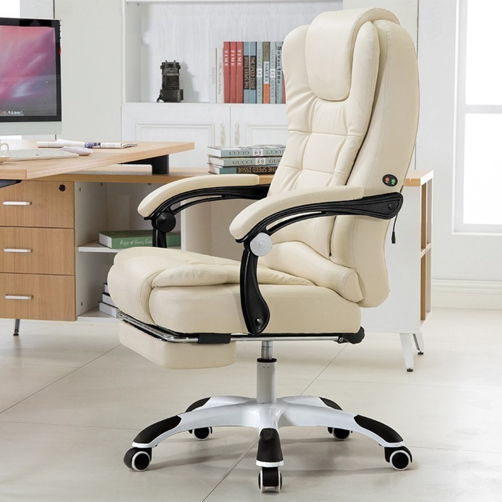 Leather Office Computer Chair Gaming Executive Desk