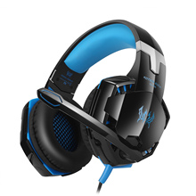 KOTION EACH GS600 Pro Gaming Headphones 3.5mm+USB Wired Stereo Gamer Headset with Mic for XBOX 360/PS3/PS4/PC Computer Laptop стоимость