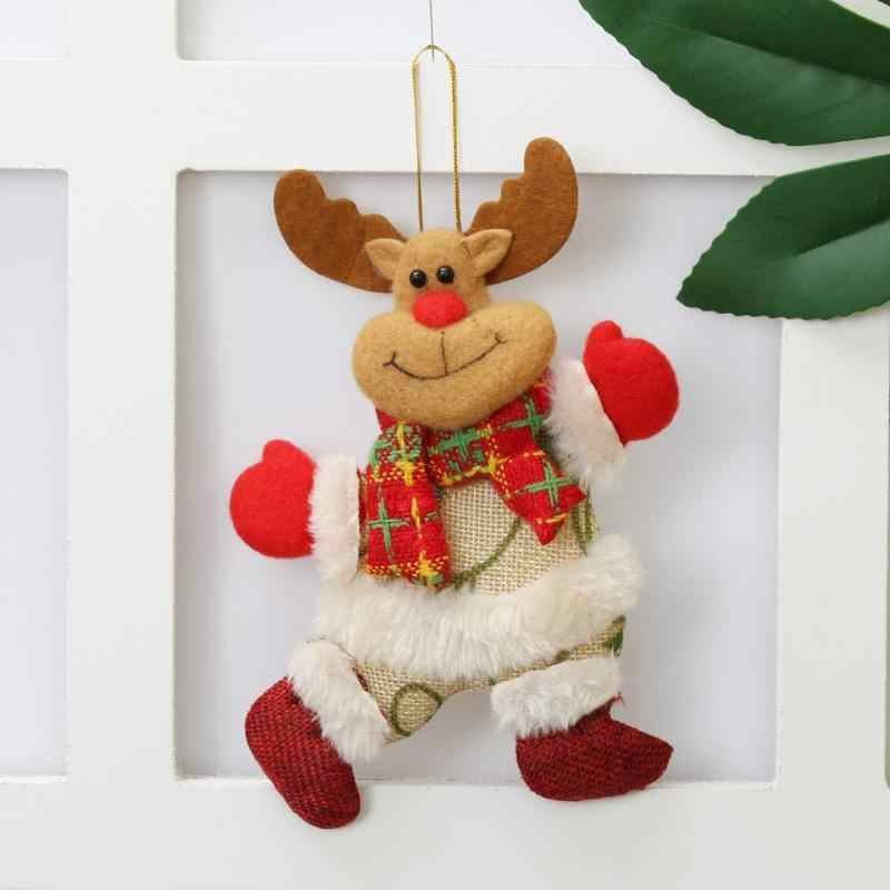 2018 Hot Creative Cartoon Christmas Doll Hanging Ornament Pendant Xmas Tree Home Party Decor