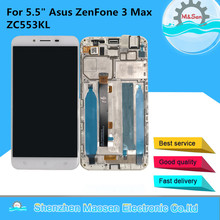 """5.5"""" Original M&Sen For Asus ZenFone 3 Max ZC553KL LCD Screen Display+Touch Panel Digitizer Frame For Asus ZC553K LCD Display"""