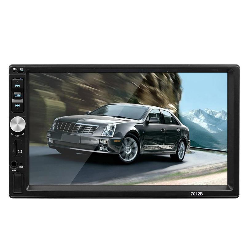 7012B amélioré 7 pouces autoradio lecteur MP5 800*480 Bluetooth FM unité de tête de Radio FM moniteur de sauvegarde de voiture