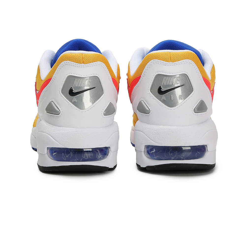 Nike Air Max2 новая модель мужские кроссовки удобный воздушный штатив с пневматическим амортизатором Выгравированная уличная спортивная обувь кроссовки # AO1741-700