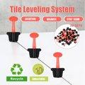 50x Pavimento In Ceramica Livellatore Strumenti T serratura Sistema di Livellamento Kit Per Piastrelle Riutilizzabile