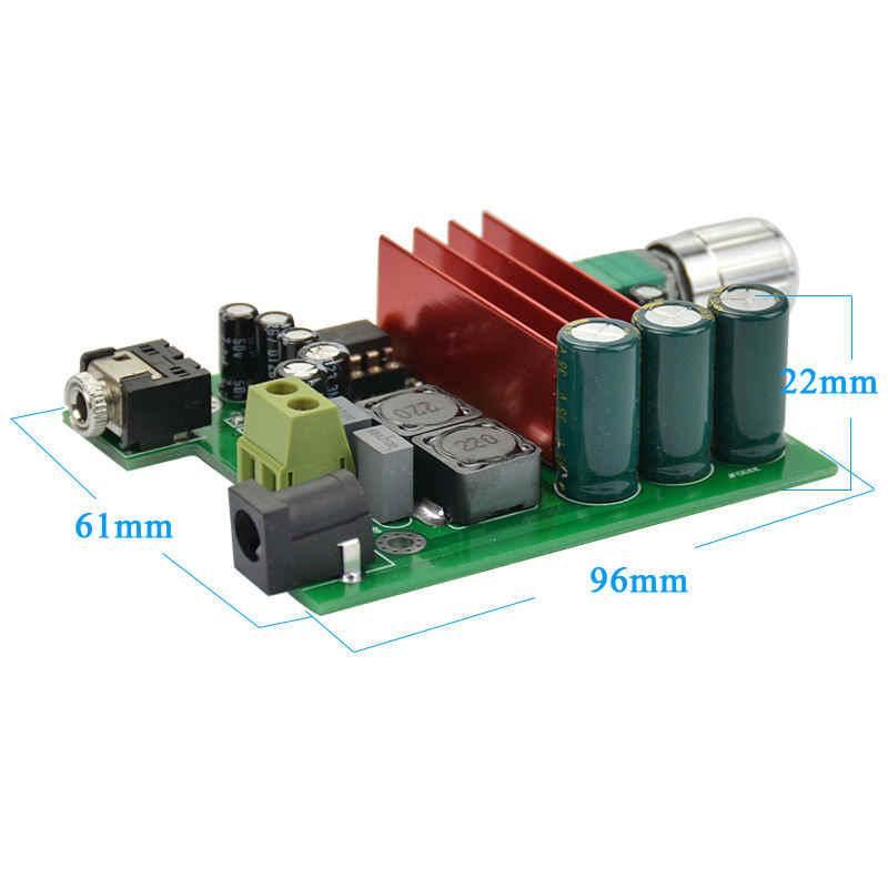 Tpa3116D2 сабвуфер цифровой Мощность усилитель доска Tpa3116 усилители 100 W аудио модуль Ne5532 ОУ 8-25 V