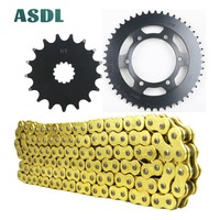 525 17T 48T Motorcycle motor Transmission Chain and front rear sprocket set for SUZUKI GSX R750 Moto GP GSX R 750 2011 2018