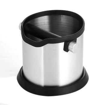 Macchina Da Caffè Francese | 1800 Ml In Acciaio Inox Espresso Colpo Scatola Non-slip Caffè Macinato Discarica Bidone Della Spazzatura Con Staccabile Bar Colpo Barista