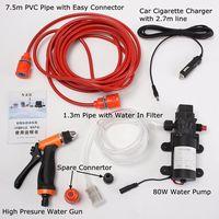 130PSI Pressure Self priming Electric Car Wash Washer Water Pump DC 12V Washing Machine Cigarette Lighter