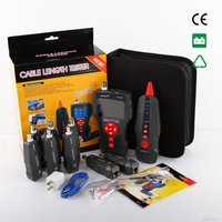 New NF 8601W Multifunctional Network Cable Tester LCD Cable Length Tester Breakpoint Tester Networking Tools
