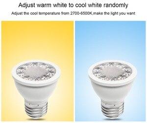Image 3 - 12 قطعة/المجموعة زيجبي ZLL RGB + CCT RGBW WWCW الأضواء ، E27/E26/GU10 ، 5 واط ، المزدوج الأبيض واللون كأس مصباح ، عكس الضوء ، لأمازون صدى زائد