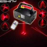 ESHINY Red 100 Line Scan Beam Party Laser Light DJ Disco Party Xmas DMX512 Remote Digital Display Stage Lighting Light B108N7