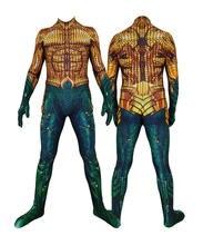 Костюм для косплея из фильма «Аквамен» костюм супергероя Артура