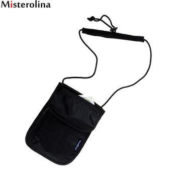 Travel Bag Neck Safe Anti-theft Purse Travel Wallet Men Women Travel Accessories Passport Holder Misterolina CX0042