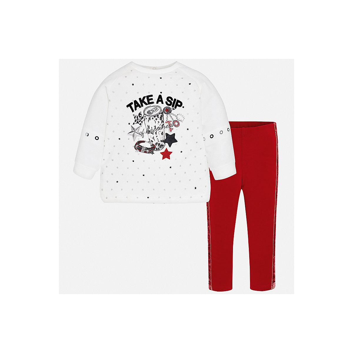 MAYORAL Baby's Sets 8848592 Cotton Baby Girls Fashion clothing costume for girl leggings T-shirt 2017 new summer baby boy clothes cotton baby clothes fashion short sleeve t shirt pants 2pcs newborn bebe baby girl clothing set