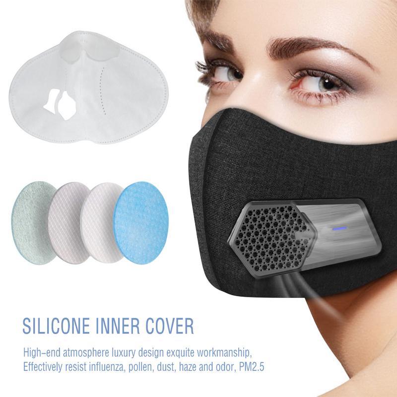 100% Verdadero Nuevo Diseño Eléctrico Protección Boca Cara Respirador Máscara Mejor Anti Polvo Al Aire Libre Bicicleta Formación Máscaras Pm2.5 Filtro