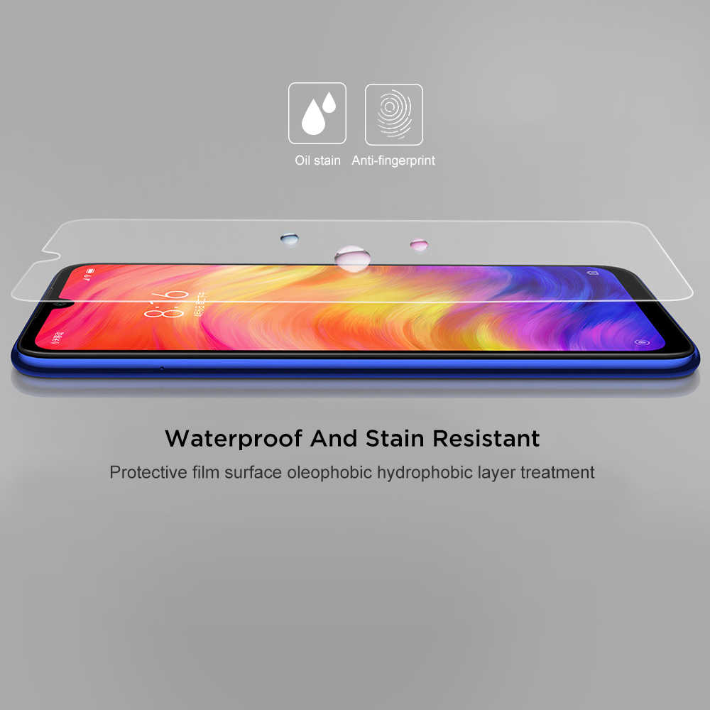 2.5D Protective Glass For Xiaomi Redmi Y3 7 GO 5 Plus 6A 6 Pro Tempered Screen Protector Glass Redmi Note 7 6 5 Pro 5A Film Case