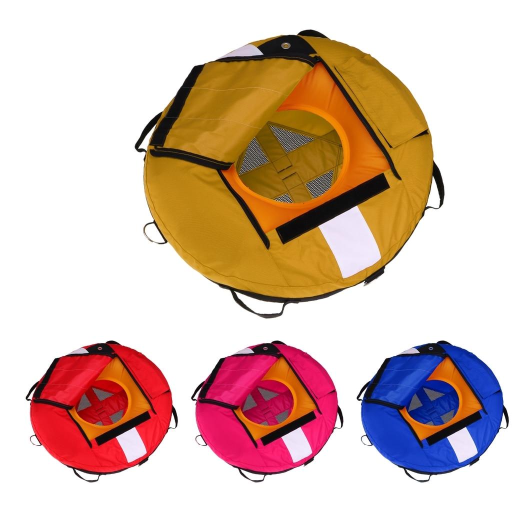 Perfeclan lot de 2 bouée de plongée libre haute visibilité sécurité flotteur d'entraînement gonflable pour la plongée sous-marine pêche sous-marine plongée en apnée