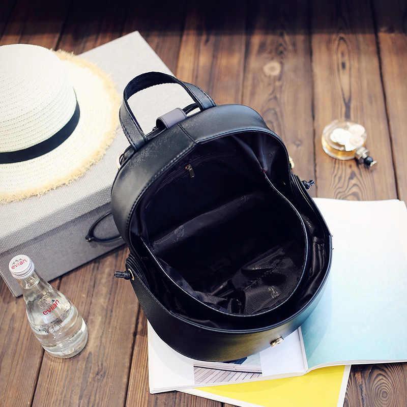 Персональный мужской и wo мужской рюкзак PU Pangolin Shap рюкзак забавные большие глаза Рюкзак-Монстр Мини Глаза Печать сумка на плечо