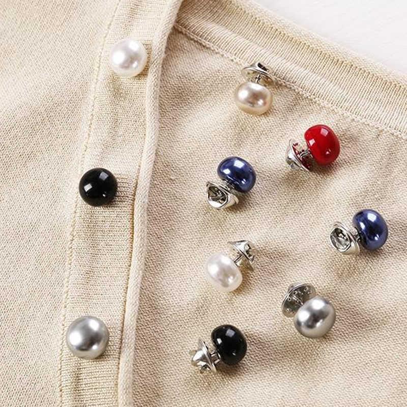 Sale Colorful Kecil Zirkon Tombol Bros untuk Wanita Imitasi Mutiara Gilrs Pin Topi Pakaian Fashion Perhiasan