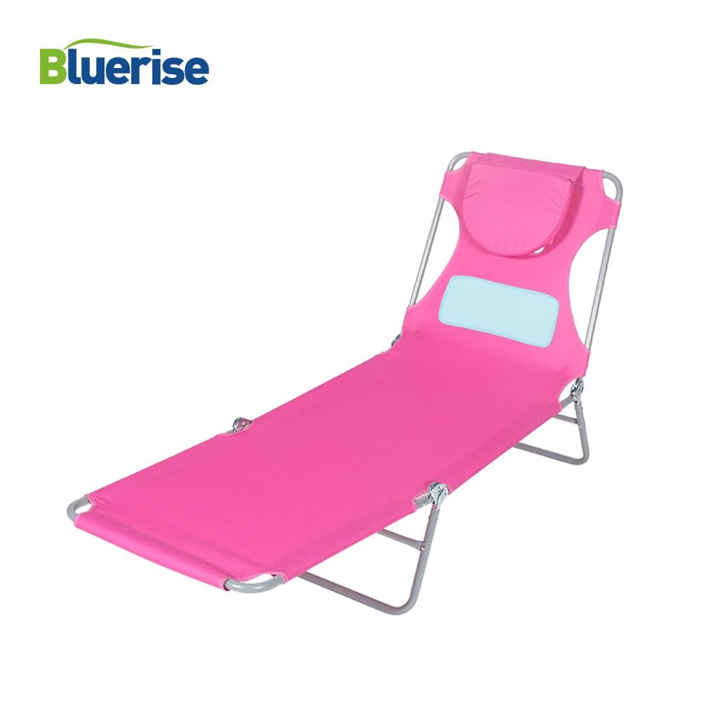 Outdoor Furniture Beach Chair Designed For Women Reading Tanning Massage Sun Lounger Ladies Comfort Lightweight Chaise Lounge