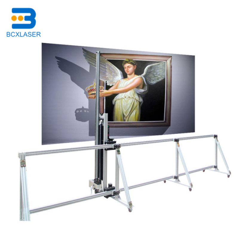 PC Control Art Zeescape 3D Vertical Direct To Wall Printer Price
