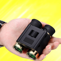 Professional Pocket Size BAK4 Portable 30x21 HD Optical Waterproof Binocular Telescope Metal material