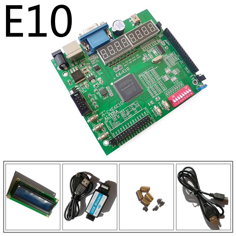 A C4E10 EP4CE10E22C8N + USB BLASTER + LCD1602 altera carte fpga carte altera carte de développement altera fpga-in Carte de démonstration from Ordinateur et bureautique on AliExpress - 11.11_Double 11_Singles' Day 1