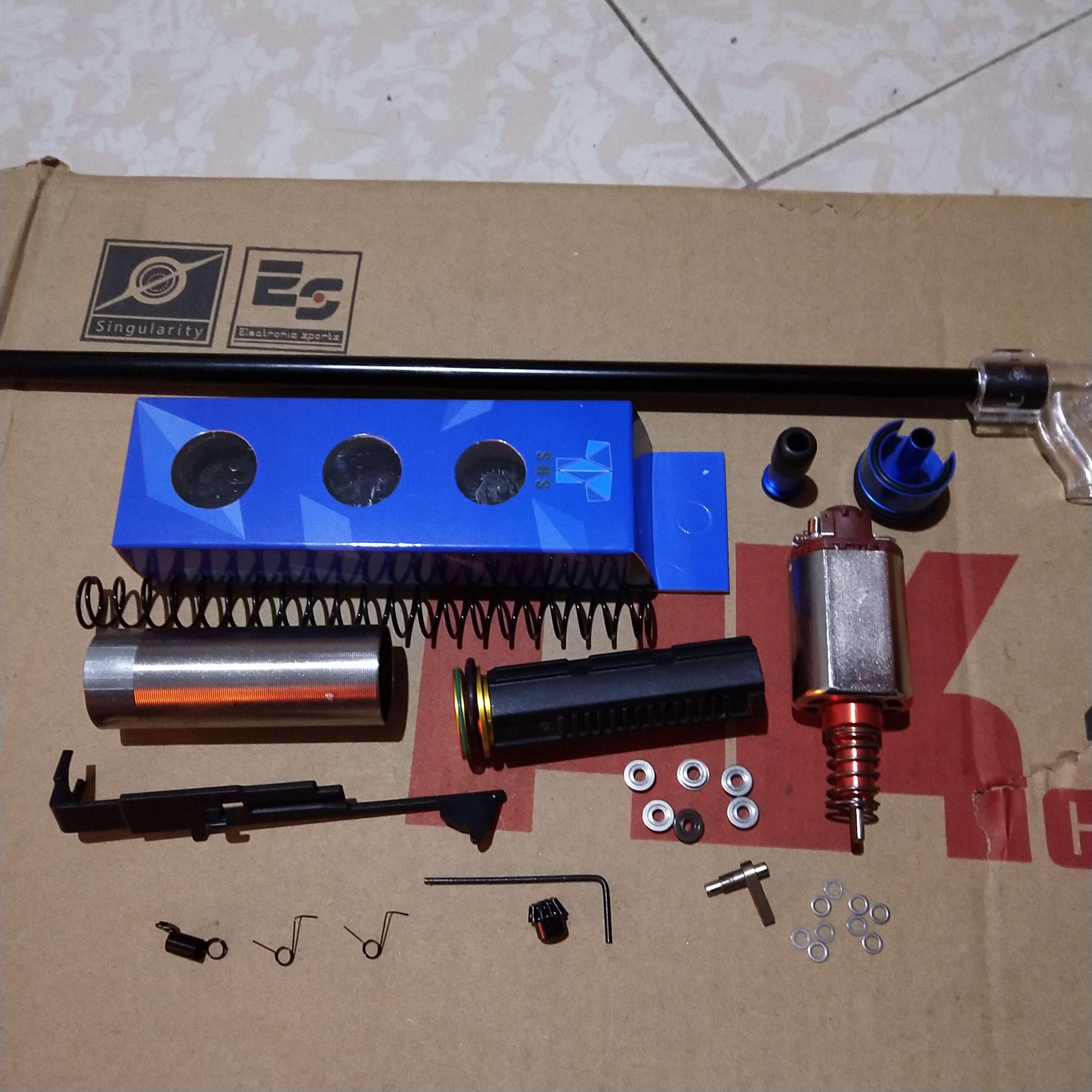 Kits de Modification de mise à niveau de luxe avec Version SHS Gear 18/1 pour JM Gen.9 M4A1 mise à niveau de Modification de boîte de vitesses
