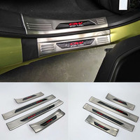 car styling Car Accessories 4PCS/8PCS Stainless Steel Door Sill Plate Welcome Pedal fit For Honda CR V CRV 2017 2018