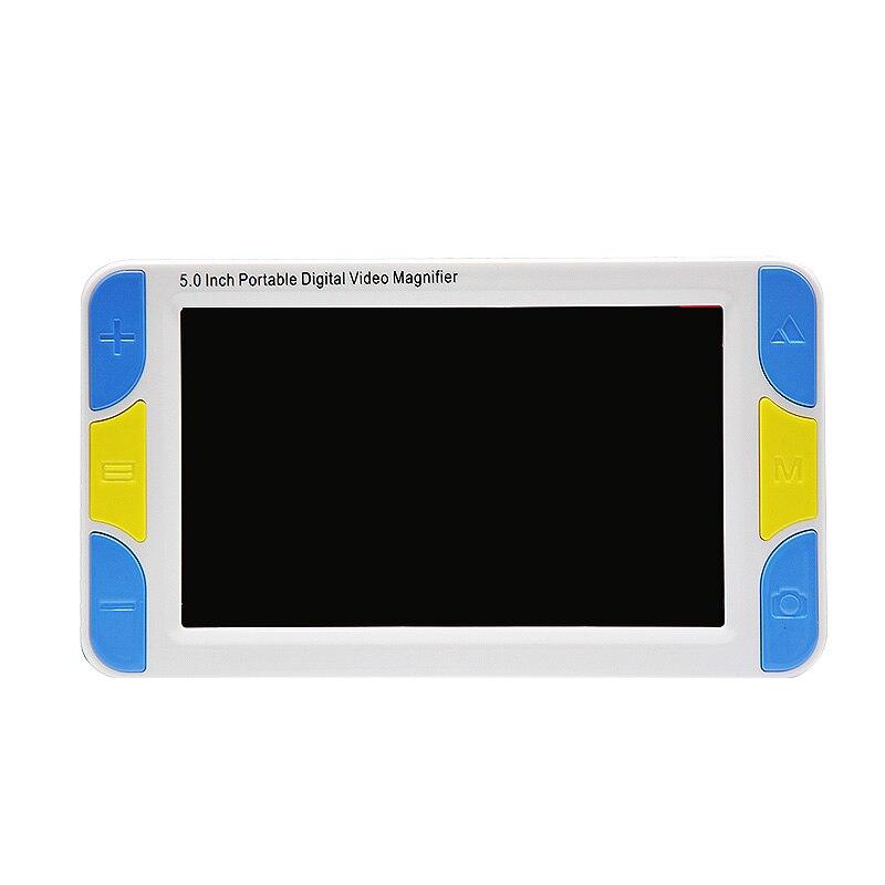 5 pouces écran Portable loupe numérique basse Vision électronique aides visuelles Microscope vidéo 4X à 32X Ys500 (prise Us)